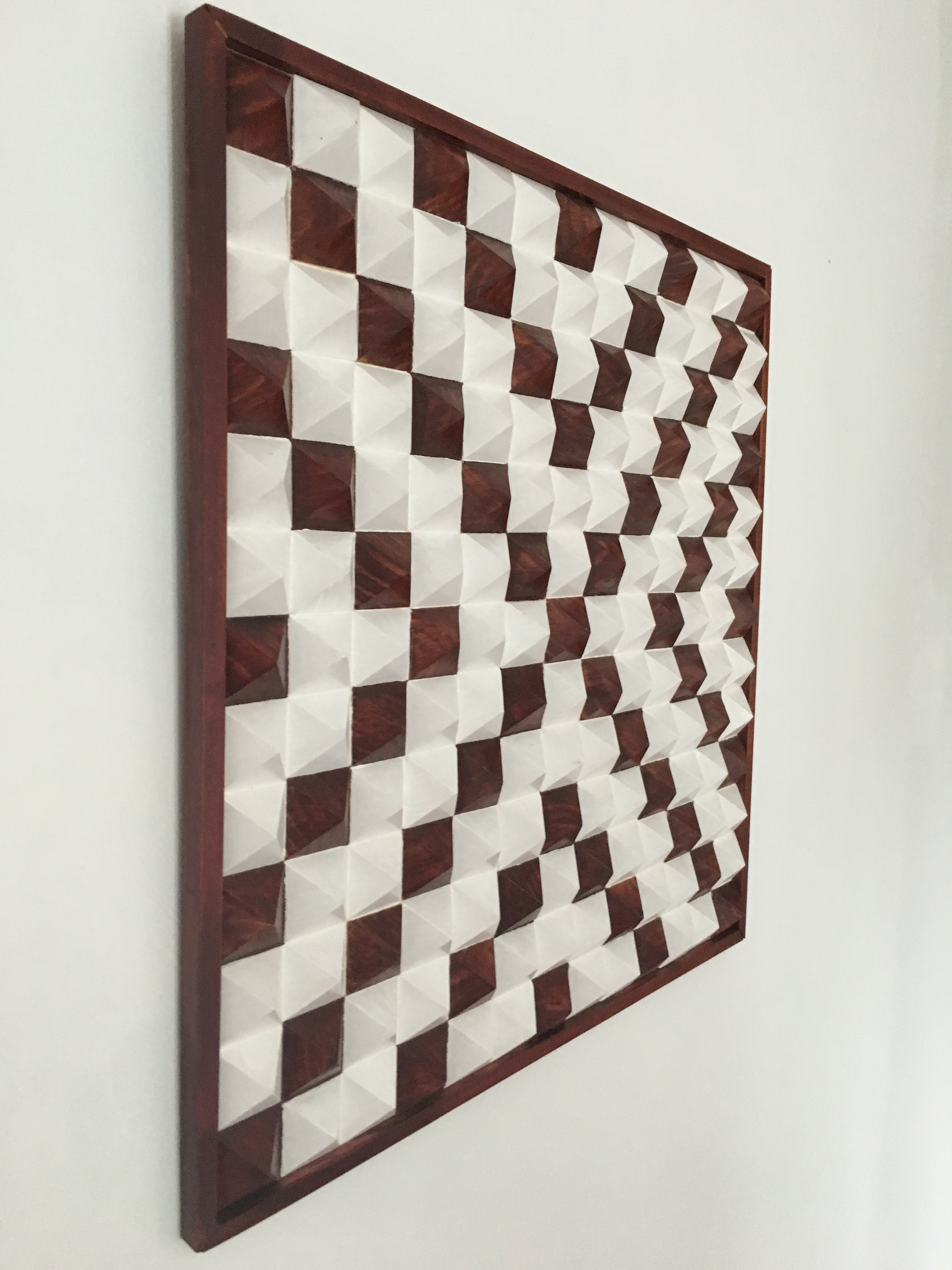 Stained Chestnut and Maple Mosaic