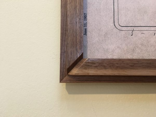 Walnut Picture Frame
